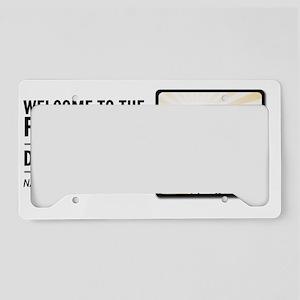10x10_apparel License Plate Holder