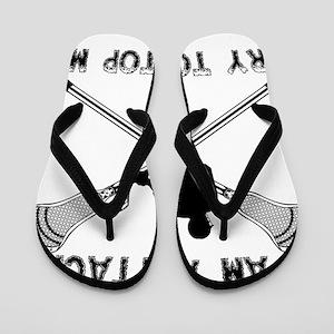 Lacrosse Attackman Flip Flops