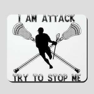 Lacrosse Attackman Mousepad