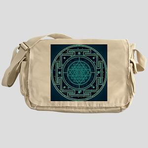 StarrySkyYantraTile Messenger Bag