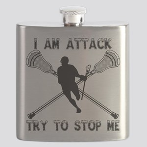 Lacrosse Attackman Flask
