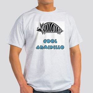 Cool Armidillo Ash Grey T-Shirt