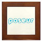 Poseur Framed Tile