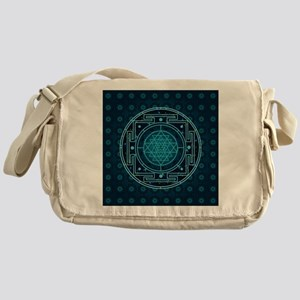 StarrySkyYantraTile3 Messenger Bag