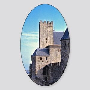 Gives views to La Cite and the coun Sticker (Oval)