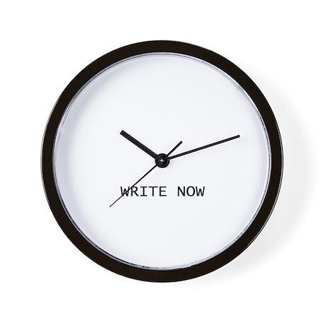 Wall Clock - Write Now