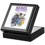 Rebel With A Mouse Keepsake Box