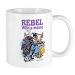 Rebel With A Mouse Mug