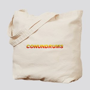 Conundrums Tote Bag! Great for camera gear!
