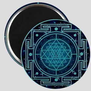 StarrySkyYantraCalendar Magnet
