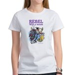 Rebel With A Mouse Women's T-Shirt
