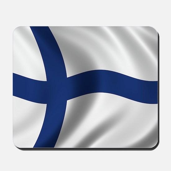 finland_flag Mousepad