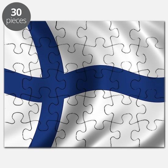 finland_flag Puzzle