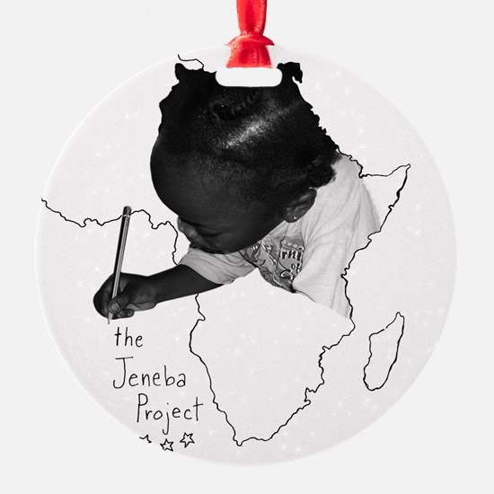 Jeneba Project Tshirt Design2 Ornament