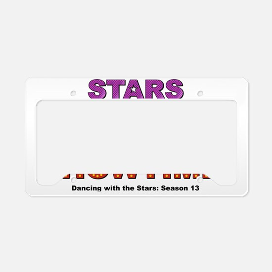 Showtime License Plate Holder
