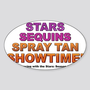 Showtime Sticker (Oval)