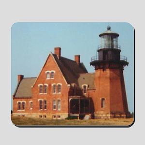 Block Island Light II Mousepad