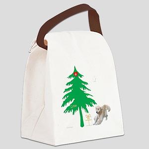 ApronLove4RedMerge Canvas Lunch Bag