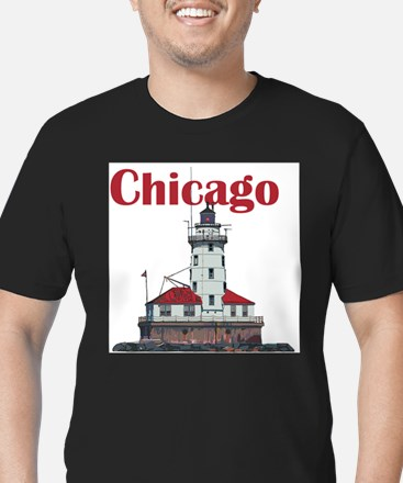 The Chicago Harbor Lighthouse T-Shirt