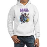 Rebel With A Mouse Hooded Sweatshirt