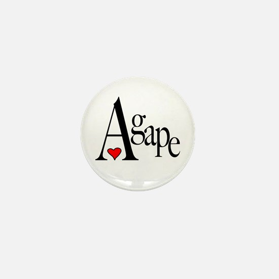 Agape Mini Button