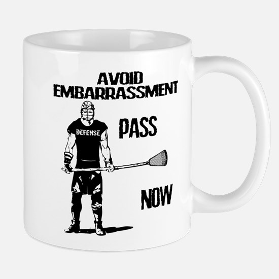 Lacrosse Defense Pass Mug