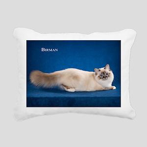 Birman Rectangular Canvas Pillow