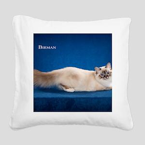 Birman Square Canvas Pillow