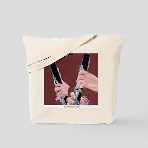 Clarinet Hands a Shirt Tote Bag
