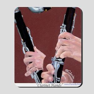 Clarinet Hands a Shirt Mousepad