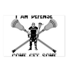 Lacrosse Defense GETSOME Postcards (Package of 8)