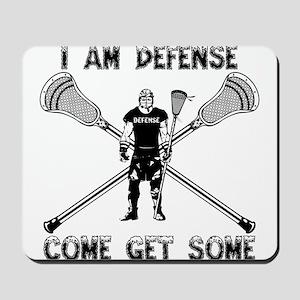 Lacrosse Defense GETSOME Mousepad