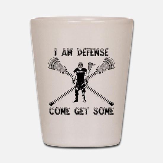 Lacrosse Defense GETSOME Shot Glass