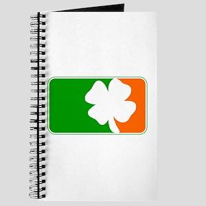 Irish Shamrock Logo Journal