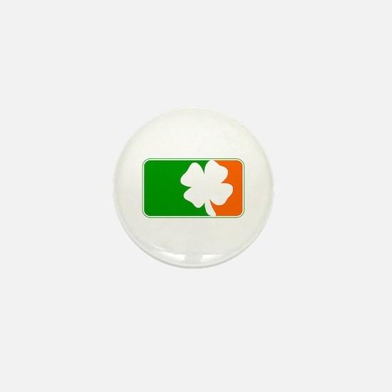 Irish Shamrock Logo Mini Button