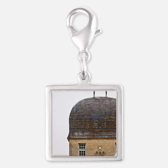 Chateau de Sales with cupola  Silver Square Charm