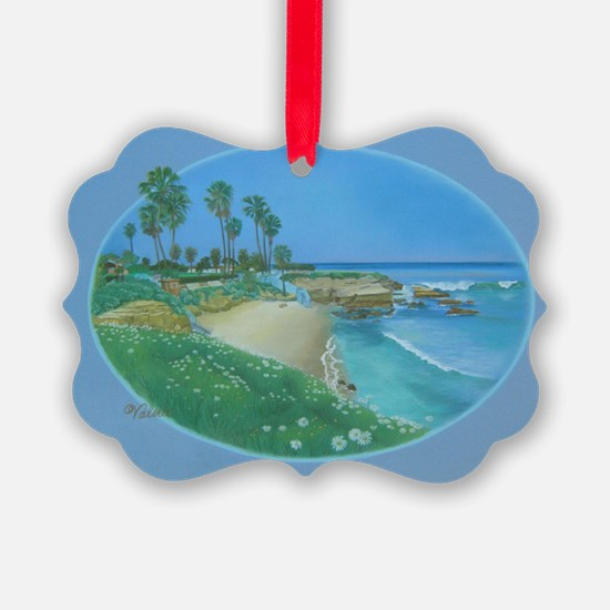 Floating Cove b shirt Ornament