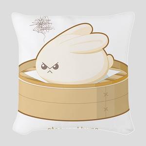 steamedbuns Woven Throw Pillow