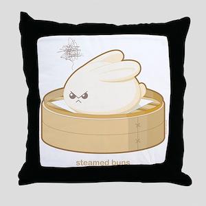 steamedbuns Throw Pillow