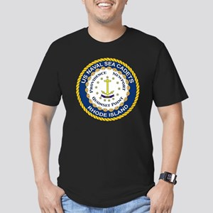 usnscrilogo Men's Fitted T-Shirt (dark)