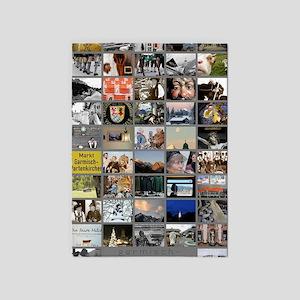 Portrait GAP large poster 5'x7'Area Rug