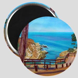 La Jolla Beach Path a shirt Magnet