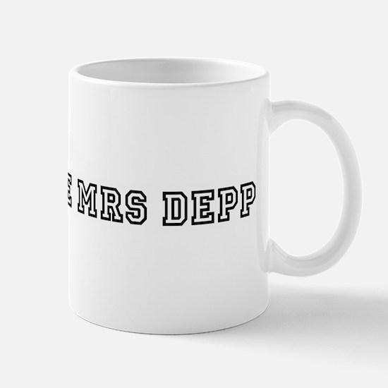 The Future Mrs Depp Mug