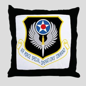 AFSOC USAF Throw Pillow