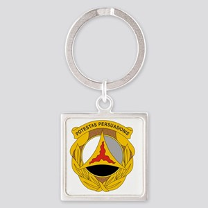 10th Psychological Operations Square Keychain