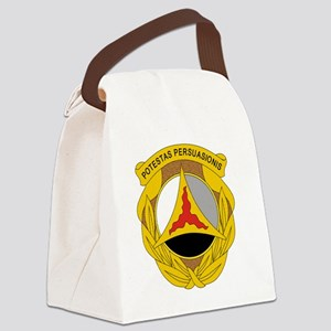 10th Psychological Operations Canvas Lunch Bag
