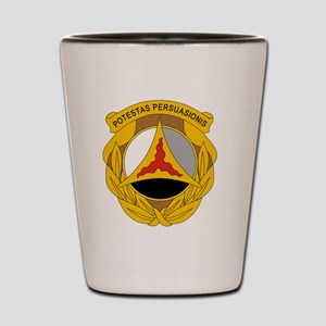 10th Psychological Operations Shot Glass