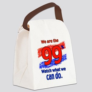 WE ARE copy Canvas Lunch Bag