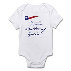 Battle of Goliad Infant Bodysuit