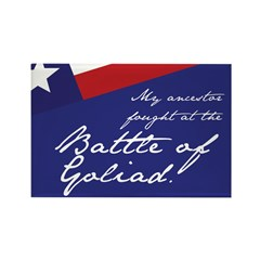Battle of Goliad Rectangle Magnet